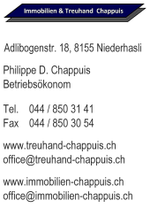 Immobilien & Treuhand Chappius